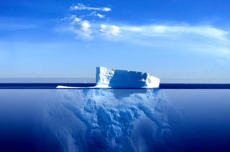 Another damn iceberg!